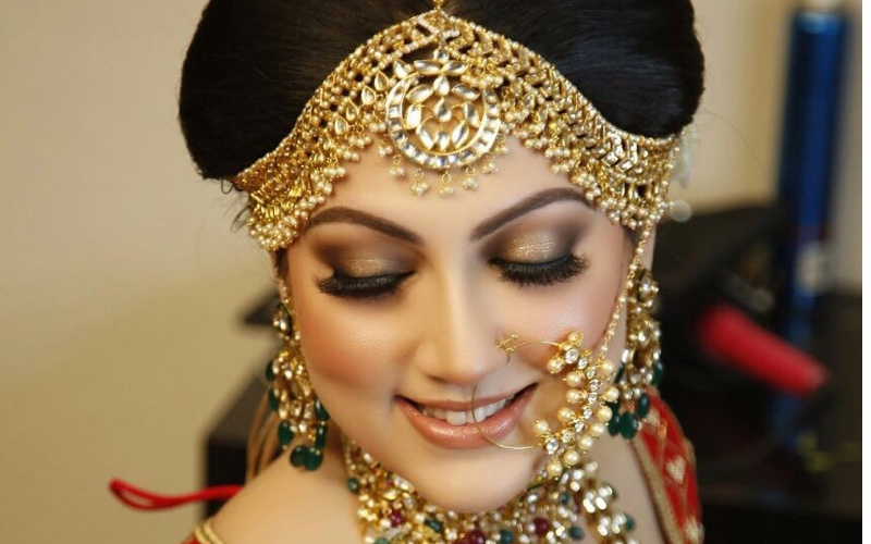 Complete bridal hair and makeup